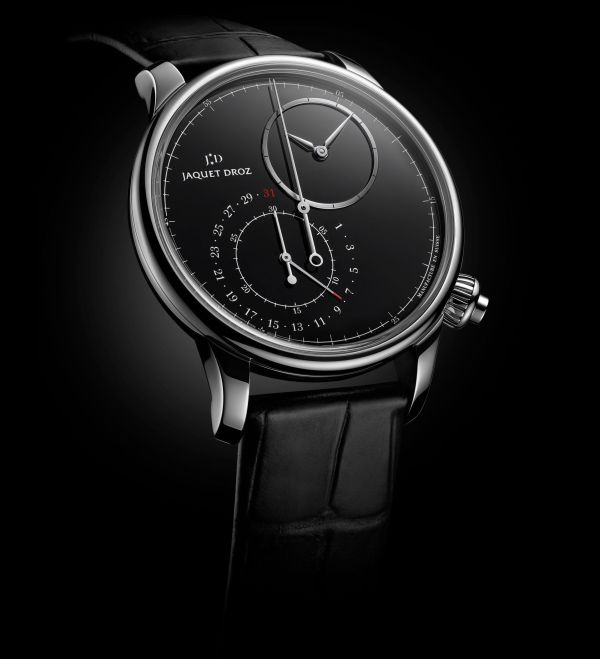 Jaquet Droz Grande Seconde Off-Centered Chronograph with Onyx Dial