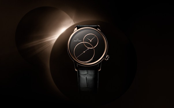 Jaquet Droz Grande Seconde Off-Centered In Black Jade Limited Edition