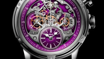 Louis Moinet Memoris Superlight Purple, Ref. LM-79.20.17/ Limited edition of 28 pieces