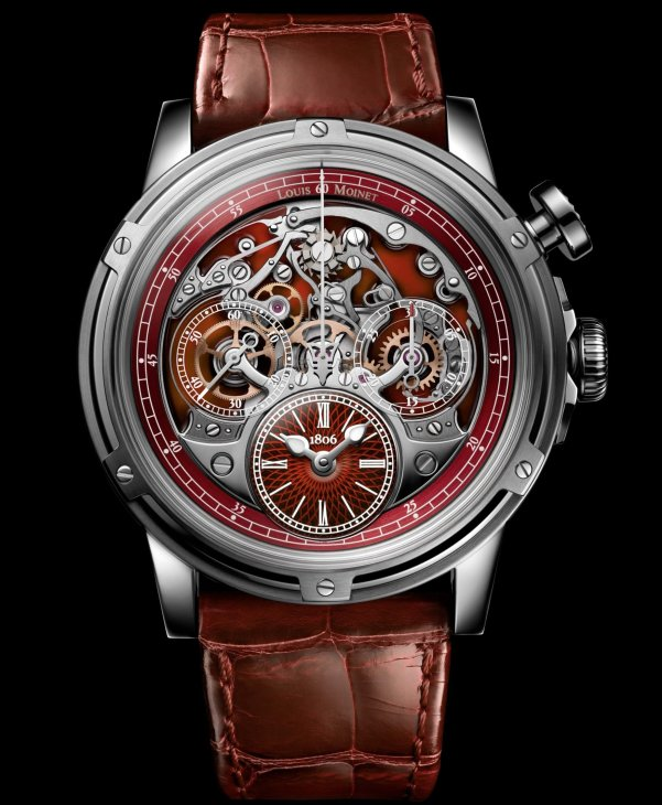 Louis Moinet Memoris Superlight Red, Ref. LM-79.20.15/ Limited edition of 28 pieces