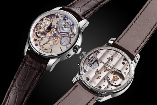 Moritz Grossmann Backpage Transparent Limited Edition