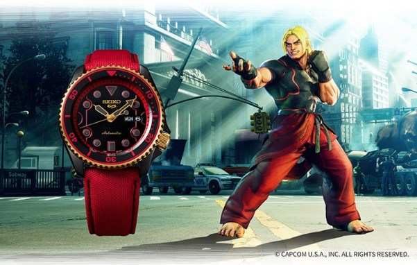 Seiko 5 Sports STREET FIGHTER V KEN (SRPF20)