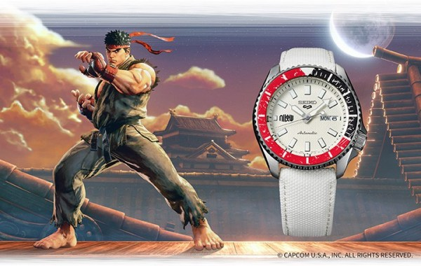 Seiko 5 Sports STREET FIGHTER V RYU (SRPF19)