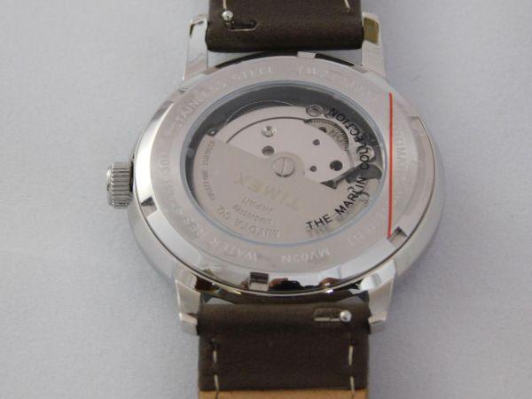 Timex MARLIN® Automatic Watch 40mm caseback