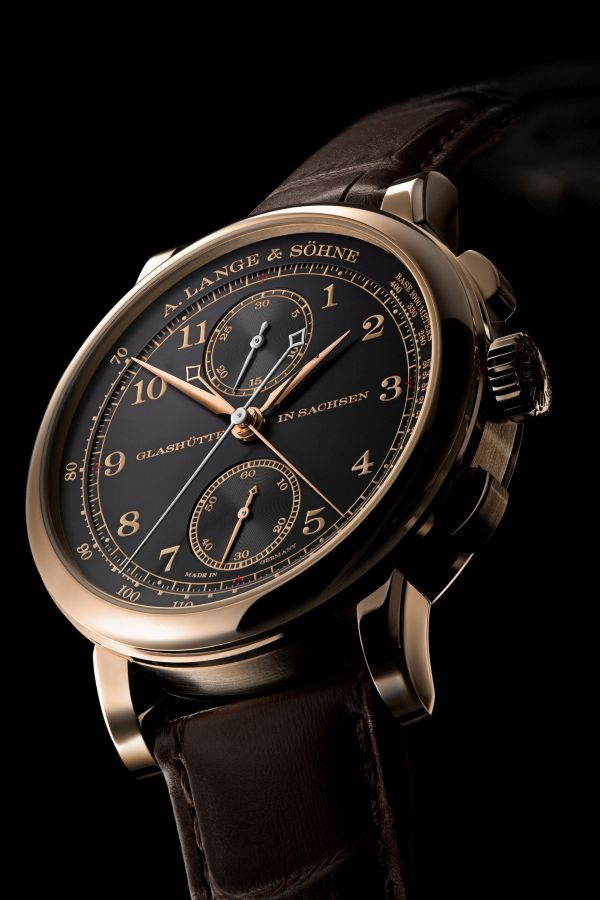 """A. Lange & Söhne """"Homage to F. A. Lange"""" Special Edition Honey Gold Series: the 1815 RATTRAPANTE HONEYGOLD"""