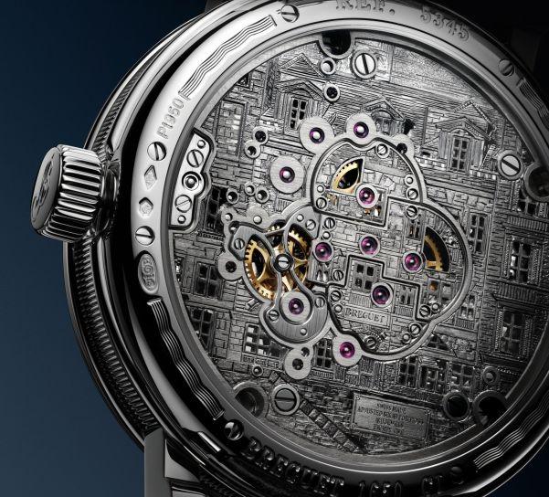 Breguet Classique Double Tourbillon Quai de l'Horloge caseback
