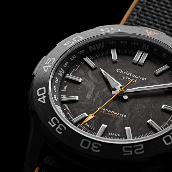 Christopher Ward C60 Lympstone Military dive watch