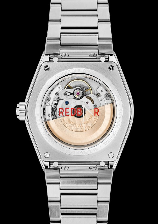 Frederique Constant RedBar Highlife Automatic COSC Limited Edition caseback