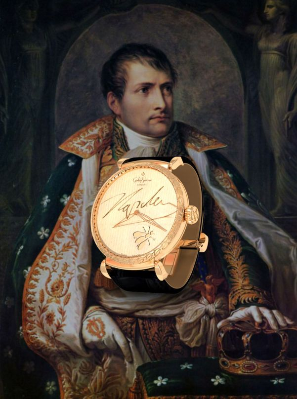 Golay-Spierer Heroïca Tempus Napoleon Bonaparte Watch
