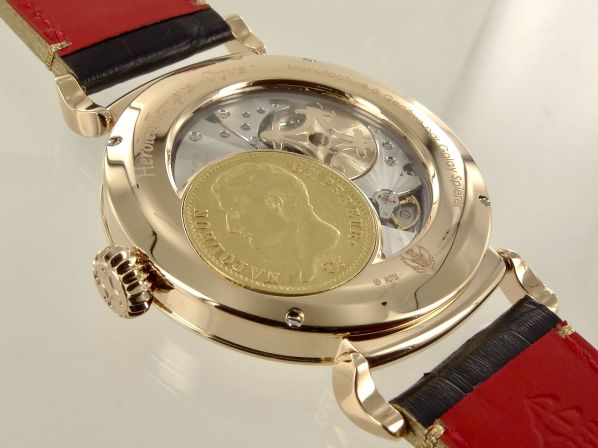 Golay-Spierer Heroïca Tempus Napoleon Bonaparte Watch caseback