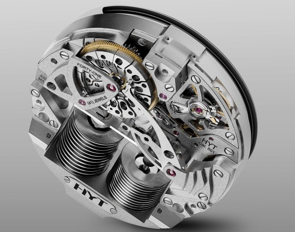 HYT H5 movement - in-house 501 Calibre