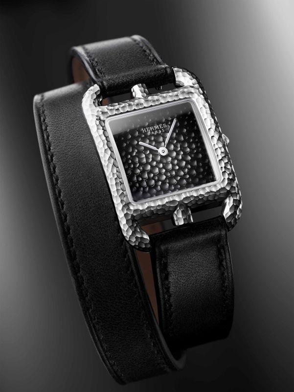 Hermès Cape Cod Martelée watch