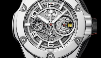 Hublot Big Bang Ferrari 1000 GP Limited Editions in Polished White Gold (Reference 402.WX. 0112.VR)