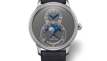 Jaquet Droz Anthracite Grande Seconde Moon watch new 2020