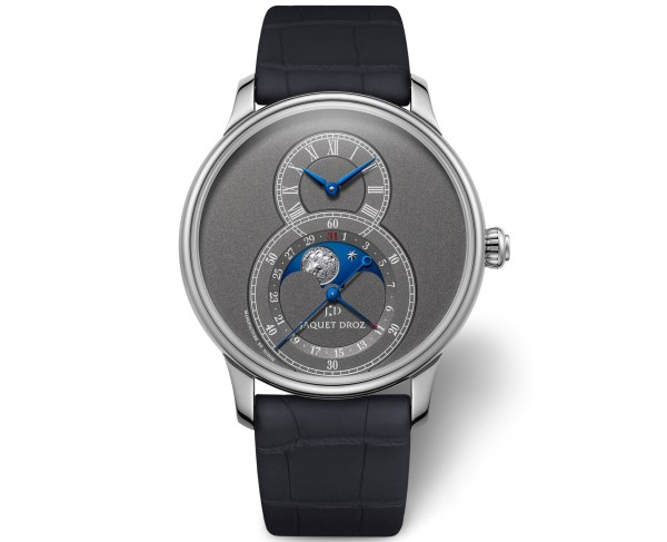 Jaquet Droz Anthracite Grande Seconde Moon watch new 2020