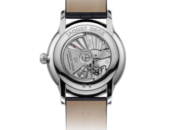 Jaquet Droz Anthracite Grande Seconde Moon caseback
