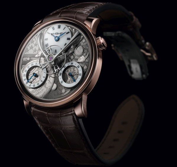 MB&F LM Split Escapement Eddy Jaquet limited edition watch From The Earth To The Moon