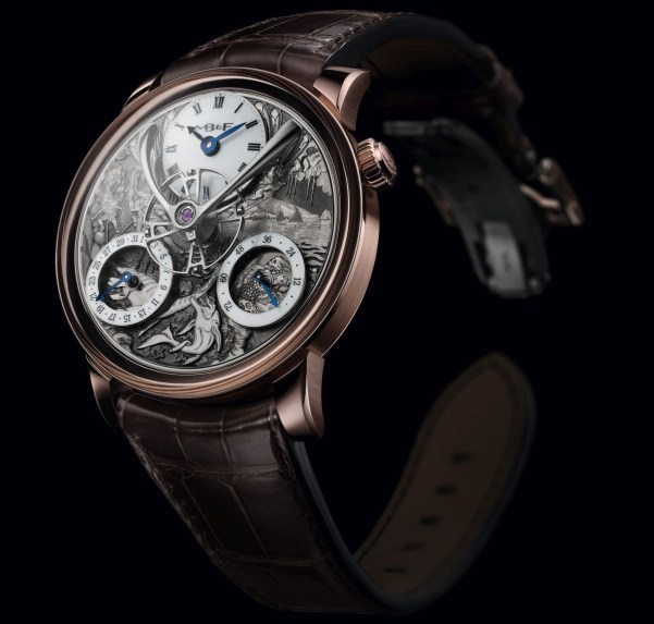 MB&F LM Split Escapement Eddy Jaquet limited edition watch Journey To The Centre Of The Earth