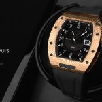 The Paul Dupuis DMS|001 watch with Rose Gold Damascus Steel Case Kickstarter Campaign