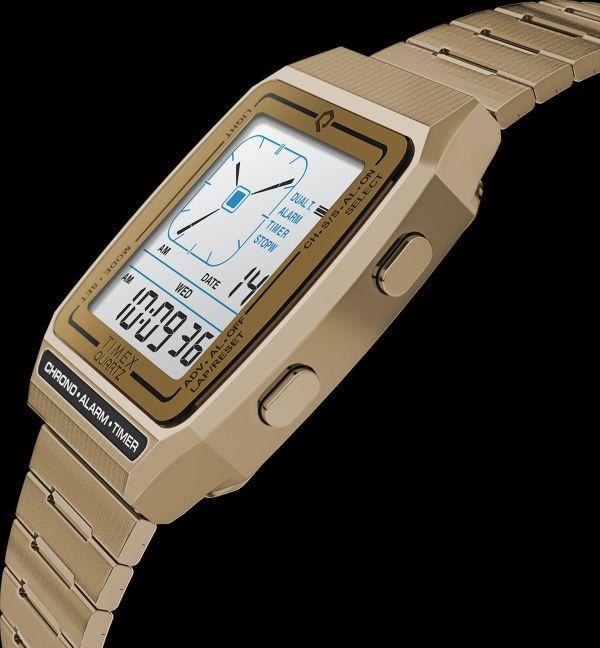 Q Timex Reissue Digital LCA watch