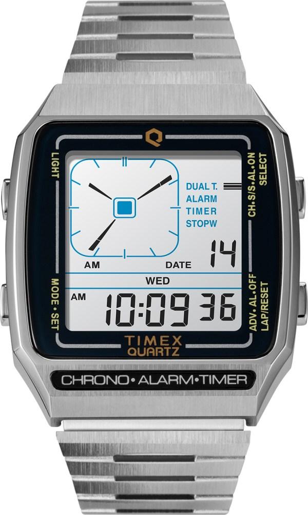 Q Timex Reissue Digital LCA watch reference TW2U72400