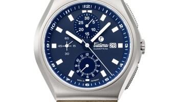 Tutima M2 Coastline Chronograph Automatic with leather strap