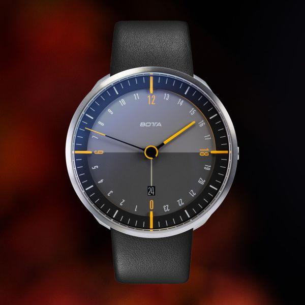 BOTTA TRES 24 plus titan quartz watch