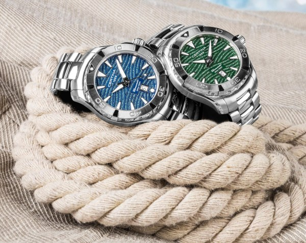 Certina DS Action Lady (New Models with Luminous Blue and Green Dials)