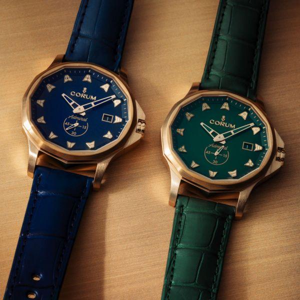 Corum Admiral 42 Bronze watch new models 2020