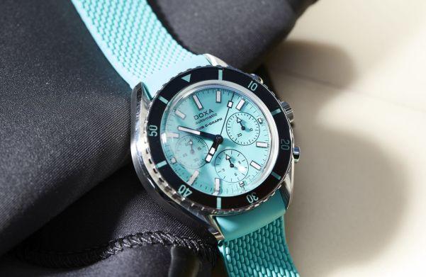 DOXA SUB 200 C-GRAPH Turquoise Aquamarine