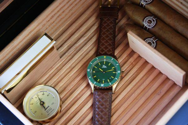 Eza Watches Sealander Bronze
