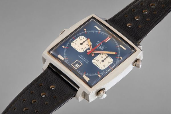 Heuer Monaco Watch Worn by Steve McQueen for the 1971 film, Le Mans