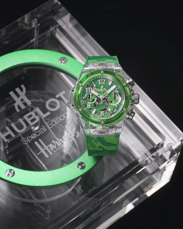 Hublot Big Bang Unico Sapphire Harrods Special Edition