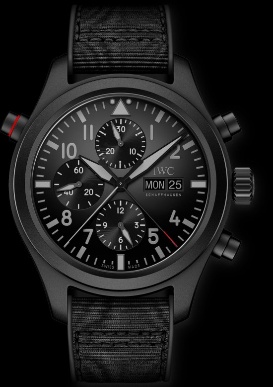 IWC Pilot's Watch Double Chronograph TOP GUN Ceratanium (Ref. IW371815)