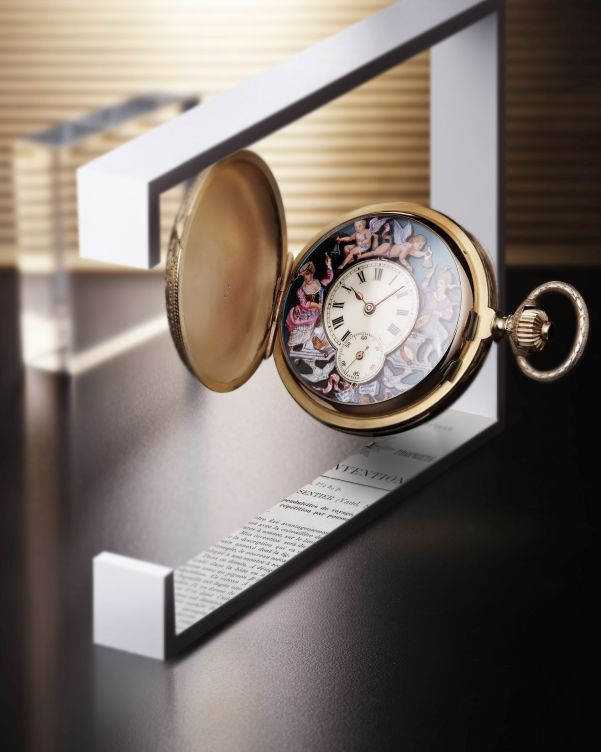 Jaeger-LeCoultre Heritage collection - Jacquemart Pocket Watch by LeCoultre, 1890s