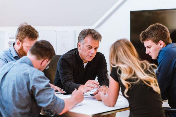 Klaus Botta, the founder of BOTTA Design