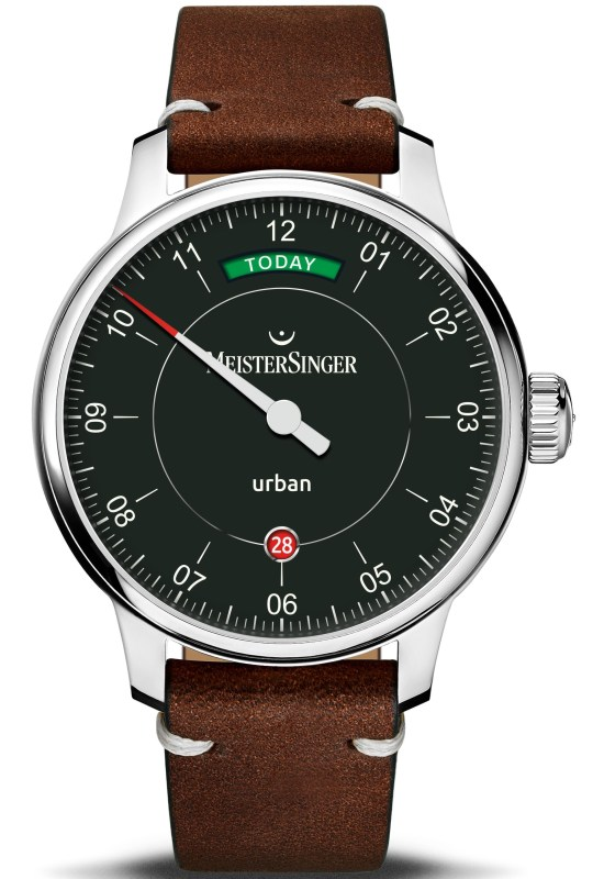 "MeisterSinger Urban Day Date ""Edition Today"""