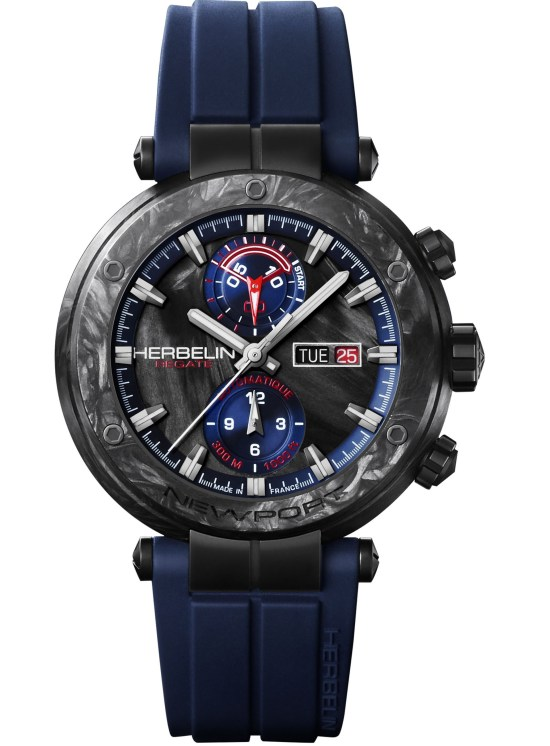 Michel Herbelin Carbon Newport Regatta Limited Edition chronograph watch