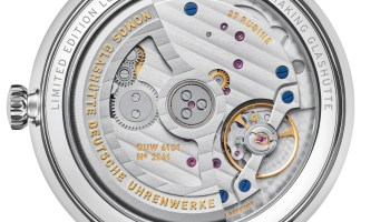 NOMOS Glashütte Ludwig Limited Edition 175 Years Watchmaking Glashütte - Ludwig neoma_k date caseback