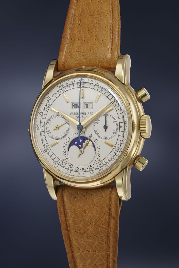 Patek Philippe Reference 2499 second series in yellow gold, Estimate: CHF 700,000-1,200,000