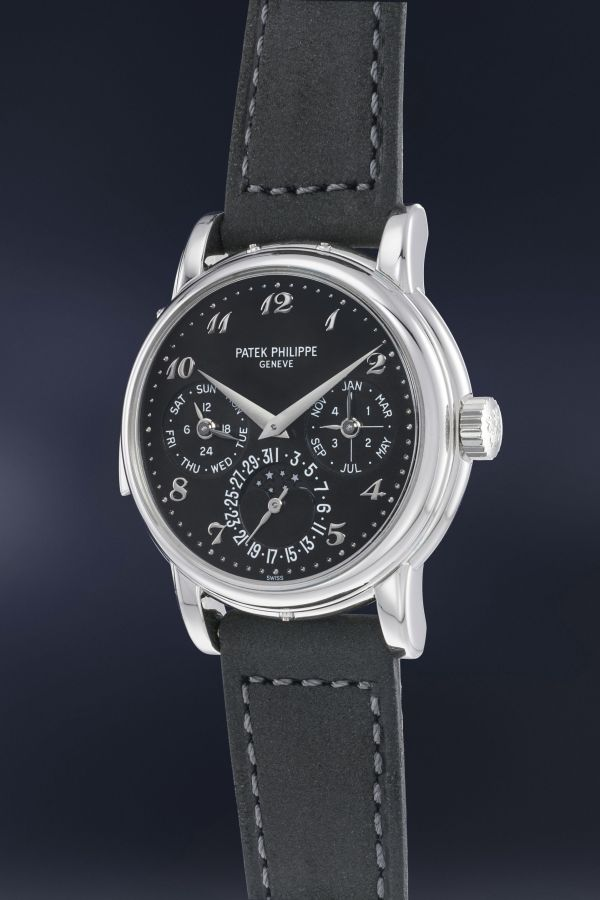 Patek Philippe Reference 3974 in platinum, Estimate: CHF 700,000-1,400,000