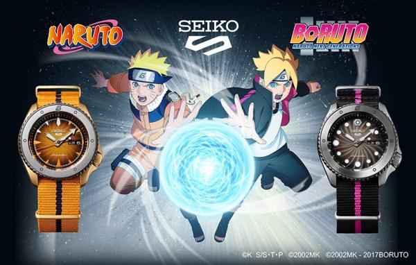 Seiko 5 Sports NARUTO & BORUTO Limited Edition watch collection