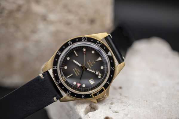 Yema Superman GMT Bronze Black