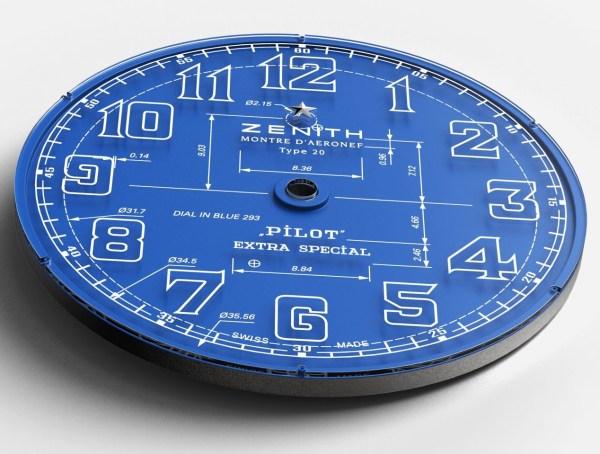 Zenith Pilot Type 20 Blueprint Limited edition