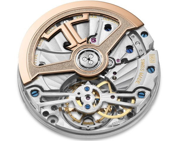 Jaeger-LeCoultre Master Ultra Thin Tourbillon Moon movement