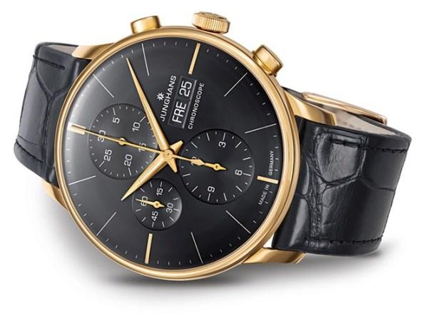Junghans Meister Chronoscope Gold