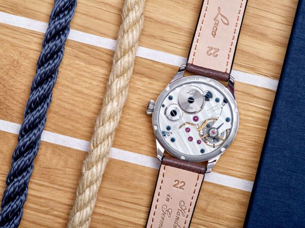 Laco Edition 95 watch caseback