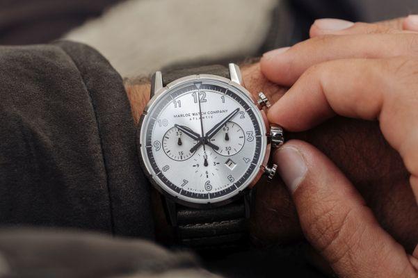 Marloe Watch Company 'Atlantic' Chronoscope Model Spirit