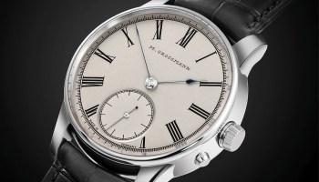Moritz Grossmann XII Birthday Edition steel watch