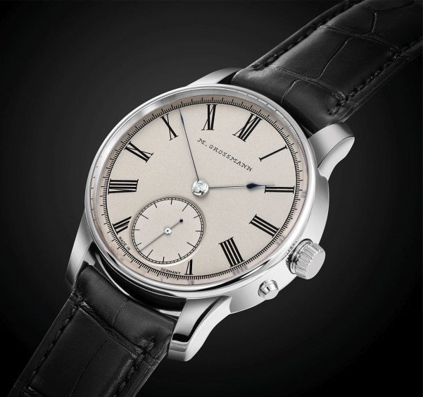 Moritz Grossmann XII Birthday Edition steel watch